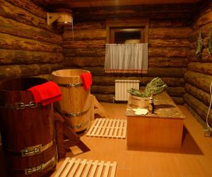 Баня своими руками в гараже: отделочные работы, водосток, отопление