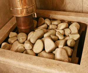 Каменка для бани своими руками. Виды печей