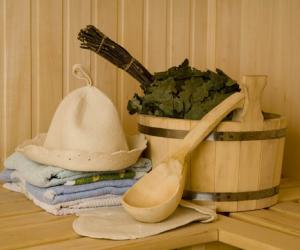 Аксессуары для бани своими руками: ведро, ковш