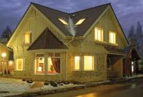 Строим дом «без гвоздей»