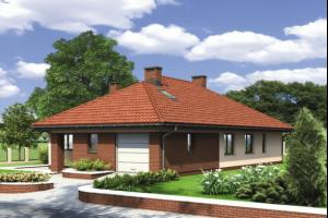 Дома с вальмовой крышей