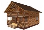 Дом из бревна 8х8. Особенности возведения