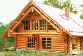 Дома из оцилиндрованного бревна: преимущества и недостатки