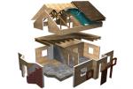 Как построить дом из сип панелей. Технология строительства
