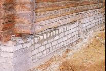 Как восстановить старый фундамент дома