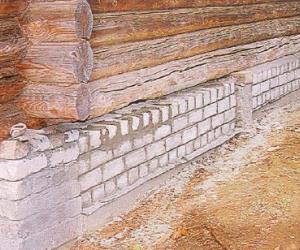 Как восстановить фундамент старого дома