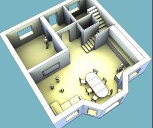 Строим дом из пеноблоков, 9х9 или 8х9