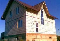 Дом из  пеноблоков 8×10