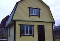 Дом из пеноблоков 5х5