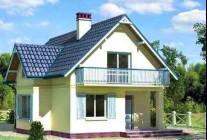 Дом из пеноблоков 7×8