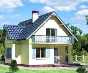 Строим дом из пеноблоков 7×8