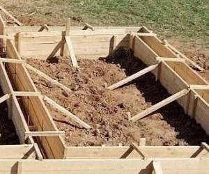 Ленточный фундамент для каркасного дома своими руками