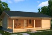 Построить гостевой дом из клееного бруса