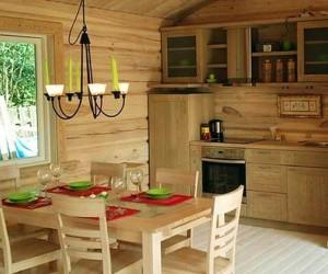 Как сделать интерьер деревянного дома внутри
