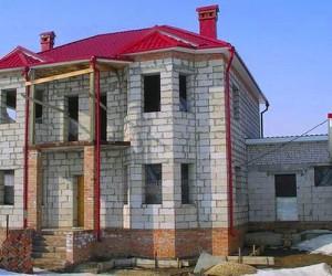 Стоимость строительства дома из  пеноблоков на сегодня