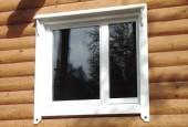 Устанавливаем пластиковые окна в деревянном доме