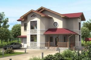 Бесплатные проекты домов из блока