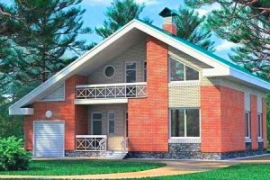 Готовые проекты домов из  блока