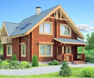 Скачать бесплатные проекты домов из бревна