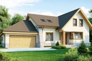 Бесплатные проекты домов с гаражом