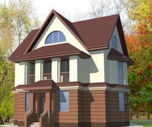 Разнообразие двухэтажных домов