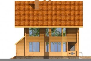 Скачать бесплатно проект двухэтажного дома