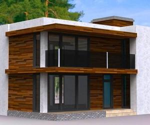 Современные проекты домов в стиле хай-тек с плоской крышей