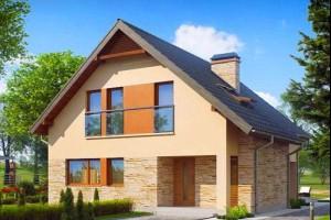 Бесплатные проекты домов с мансардой