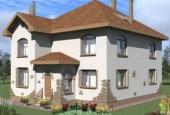Скачать бесплатные проекты домов  из  пеноблока