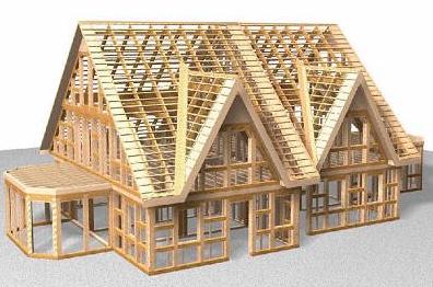 Скандинавские технологии.  Каркасные дома