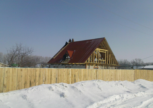Переделка реконструкция дома крыши