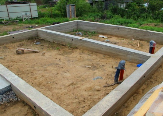 Ленточный-фундамент-для-каркасного-дома
