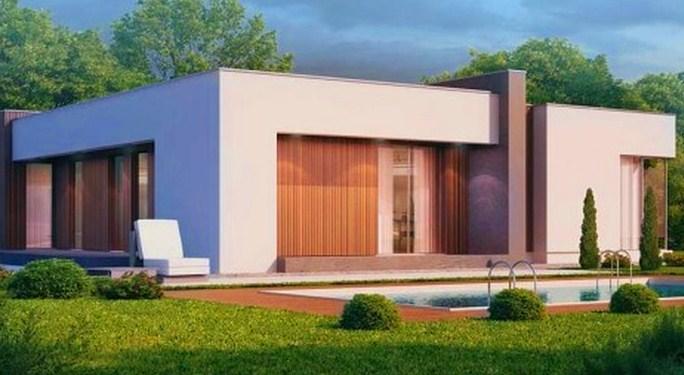 Одноэтажный-дом-с-плоской-крышей
