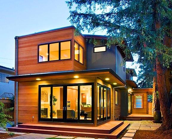 Каркасный-дом-с-плоской-крышей