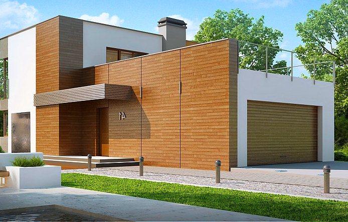 Двухэтажный-дом-с-плоской-крышей