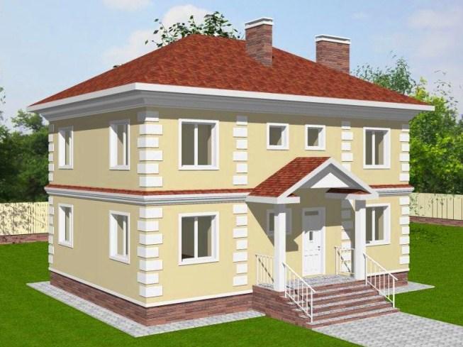 бесплатные-проекты-двухэтажных-домов