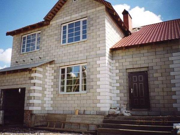 бесплатные-проекты домов-из блоков