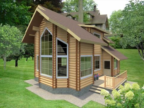 бесплатные-проекты-домов-из-дерева