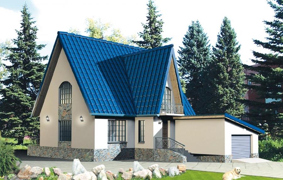 бесплатные-проекты-домов-с-гаражом