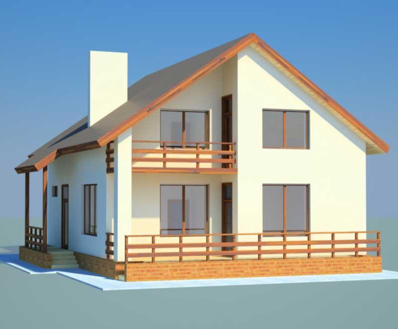 бесплатные-проекты-домов-из-газобетона