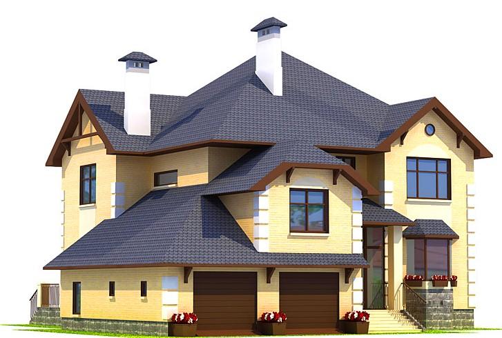 Проекты-домов-из-керамзитоблоков