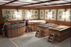 Японская баня офуро. Особенности строительства