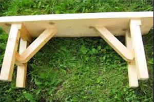 Как создать скамейку для бани своими руками?