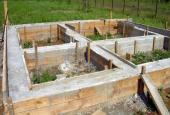 Фундамент под баню своими руками: столбчатый и ленточный