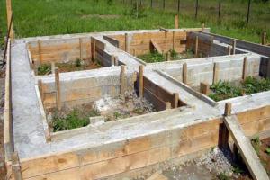 Фундамент под баню: столбчатый и ленточный