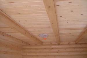 Как соорудить потолок в бане своими руками
