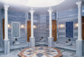 Строительство турецких бань. Бани хамам