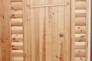 Создание двери в баню своими руками