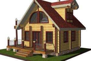 Технология строительства бани в доме