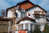 Особенности изоляции фасада дома пенопластом